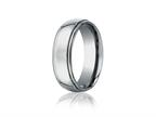 Benchmark 7mm Comfort Fit Titanium Wedding Band / Ring Style number: TI570