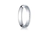 <b>Engravable</b> Benchmark® 4.5mm Euro Comfort Fit Wedding Band / Ring style: EUCF145