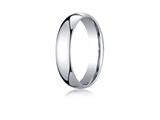 Benchmark® Palladium 5mm Slightly Domed Standard Comfort-fit Ring style: LCF150PD
