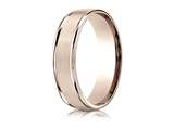 Benchmark® 6mm Comfort Fit Wedding Band / Ring style: RECF7602S14KR