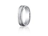 Benchmark® 6mm Comfort Fit Wedding Band / Ring style: RECF7602SCC