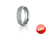 <b>Engravable</b> Benchmark® 6mm Comfort Fit Titanium Wedding Band / Ring style: TI560