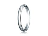 <b>Engravable</b> Benchmark® 14k Gold 3.0mm Slightly Domed Super Light Comfort-fit Wedding Band / Ring style: SLCF130