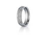<b>Engravable</b> Benchmark® 6mm Comfort Fit Titanium Wedding Band / Ring style: TI560