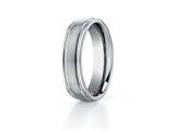 Benchmark® 6mm Comfort Fit Titanium Wedding Band / Ring style: TI561