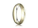Benchmark® 14k Gold 5.0mm High Dome Heavy Comfort-fit Ring style: CF150