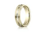 Benchmark® 6mm Comfort Fit 0.36 cttw Diamond Wedding Band / Ring style: CF526533