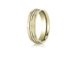 Benchmark® 6mm Comfort Fit Design Wedding Band / Ring style: CF5641118K