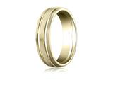 Benchmark® 6mm Comfort Fit Design Wedding Band / Ring style: CF56444