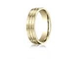 Benchmark® 6mm Comfort Fit Design Wedding Band / Ring style: CF6633418K