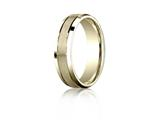 Benchmark® 6mm Comfort Fit Design Wedding Band / Ring style: CF6643618K