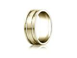 Benchmark® 8mm Comfort Fit Wedding Band / Ring style: CF68423