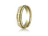 Benchmark® 6mm Comfort Fit Design Wedding Band / Ring style: RECF7645210K