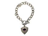 Amethyst Sterling Silver Bracelet by Effy Collection style: 520096