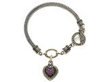 Pink Sapphire Sterling Silver Bracelet by Effy Collection style: 520102