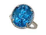 Genuine Blue Topaz Ring by Effy Collection® style: 520172