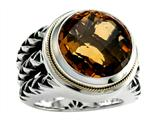 Balissima By Effy Collection Sterling Silver and 18k Yellow Gold Citrine Ring style: 520344