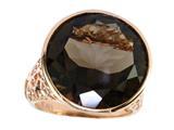 Effy Collection 14k Rose Gold Smoky Quartz Ring style: 520390