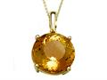 Genuine Citrine Necklace by Effy Collection®