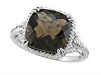 Genuine Smoky Quartz Ring by Effy Collection Style number: 520055