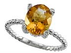 Genuine Citrine Ring by Effy Collection Style number: 520088