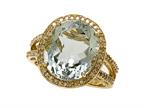 Green Amethyst Ring by Effy Collection Style number: 520169
