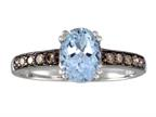 Effy Collection 14k White Gold Aquamarine Ring Style number: 520393