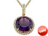 Genuine Amethyst Pendant Necklace by Effy Collection® style: 520020
