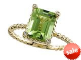 Genuine Peridot Ring by Effy Collection® style: 520077