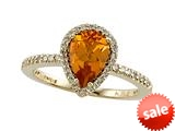 Genuine Citrine Ring by Effy Collection® style: 520080CD