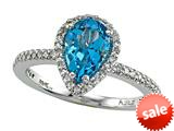 Genuine Blue Topaz Ring by Effy Collection® style: 520081