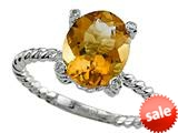 Genuine Citrine Ring by Effy Collection® style: 520088