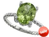 Genuine Peridot Ring by Effy Collection® style: 520090