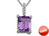 Amethyst Pendant Necklace by Effy Collection® style: 520093