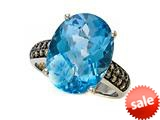 Genuine Blue Topaz Ring by Effy Collection® style: 520175