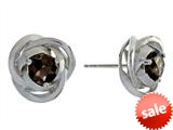 Balissima By Effy Collection Sterling Silver Smoky Quartz Earrings style: 520263