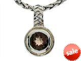 Balissima By Effy Collection Sterling Silver and 18k Yellow Gold Smoky Quartz Pendant Necklace style: 520288