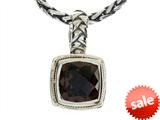Balissima By Effy Collection Sterling Silver and 18k Yellow Gold Smoky Quartz Pendant Necklace style: 520302