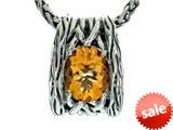 Balissima By Effy Collection Sterling Silver Citrine Pendant Necklace style: 520314