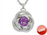 Balissima By Effy Collection Sterling Silver Amethyst Pendant Necklace style: 520319