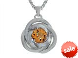 Balissima By Effy Collection Sterling Silver Citrine Pendant Necklace style: 520322