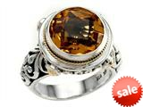 Balissima By Effy Collection Sterling Silver and 18k Yellow Gold Citrine Ring style: 520336