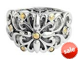 Balissima By Effy Collection Sterling Silver and 18k Yellow Gold Ring style: 520338