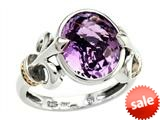 Balissima By Effy Collection Sterling Silver and 18k Yellow Gold Amethyst Ring style: 520362