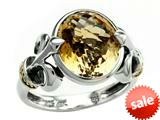 Balissima By Effy Collection Sterling Silver and 18k Yellow Gold Citrine Ring style: 520364