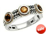 Balissima By Effy Collection Sterling Silver and 18k Yellow Gold Citrine Ring style: 520369