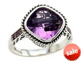 Balissima By Effy Collection Sterling Silver Amethyst and Pink Sapphire Ring style: 520373CD