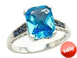 Balissima By Effy Collection Sterling Silver Blue Topaz and Sapphire Ring style: 520375