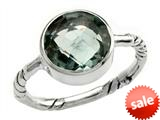 Balissima By Effy Collection Sterling Silver Green Amethyst Ring style: 520376