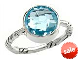 Balissima By Effy Collection Sterling Silver Blue Topaz Ring style: 520378